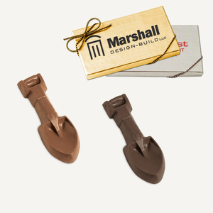 Chocolate Shovel with Gift Boxa