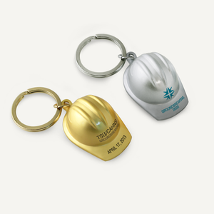 Die Cast Hard Hat Keychains