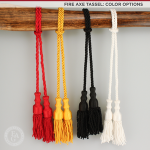 Fire Axe Tassel Color Options