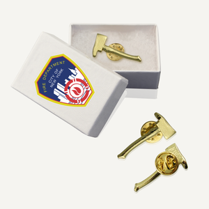 Firefighter Axe Lapel Pins