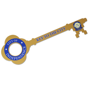 Giant Ceremonial Key to the City - Gold Finish