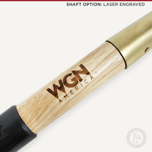 Gold Painted Groundbreaking Shovel - Small - Laser Engraved Shaft