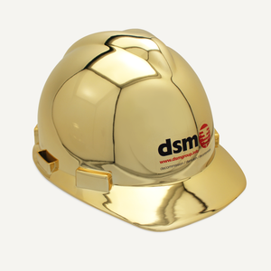 Gold Plated Groundbreaking Hard Hat