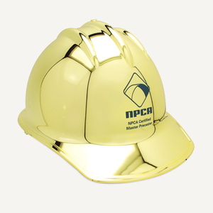 Gold Plated Groundbreaking Hard Hat - B-Style