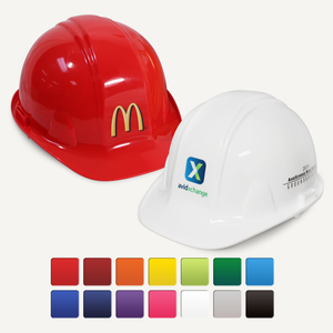 Groundbreaking Hard Hat - Flat Front