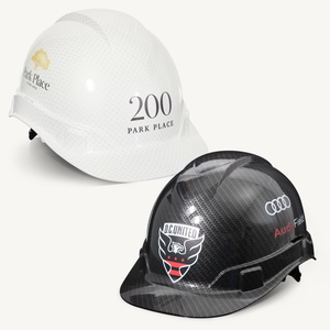 Groundbreaking Hard Hat - Graphite Pattern
