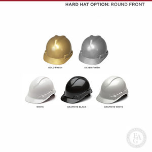 Hard Hat Options - Round Front