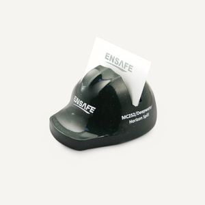 Miniature Hard Hat Business Card Holder