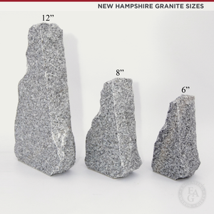New Hampshire Granite Award Sizes