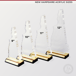 "12"" New Hampshire Acrylic Award"