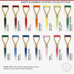 Traditional Gold Plated Groundbreaking Shovel - D-Handle - Painted Color Options