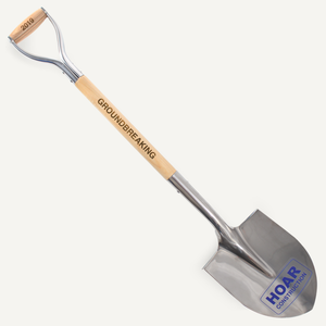 Stainless Steel Groundbreaking Shovel