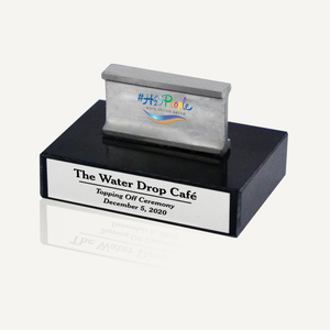 Black Marble Miniature I-Beam Award