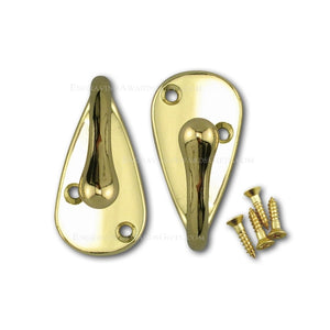 Bright Brass Axe Mounting Hardware