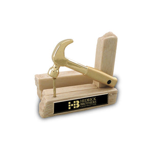 Miniature Gold Hammer Keepsakes