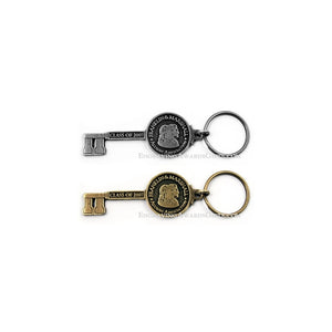 Ceremonial Key Shaped Keychains - Custom Cast