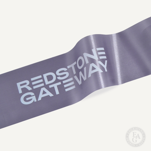 Short-length Custom Full Color Printed Ribbon