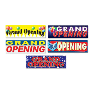 Full Color Vinyl Grand Opening Banner