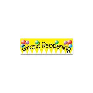 Full Color Vinyl Grand Re-Opening Banners