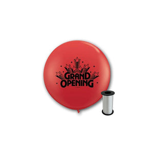 3ft Red Grand Opening Balloons