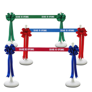 Plastic Ceremonial Stanchions