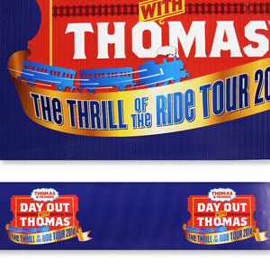 "6"" to 12"" Wide Full Color Printed Banner Vinyl Ribbon"