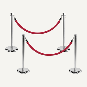 Metal Ceremonial Stanchions