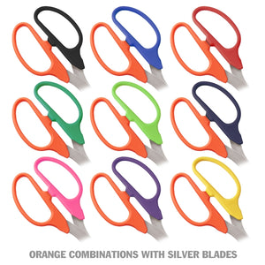 "25"" Two-Color Handle Ribbon Cutting Scissors with Silver Blades"