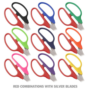"36"" Two-Color Handle Ribbon Cutting Scissors with Silver Blades"