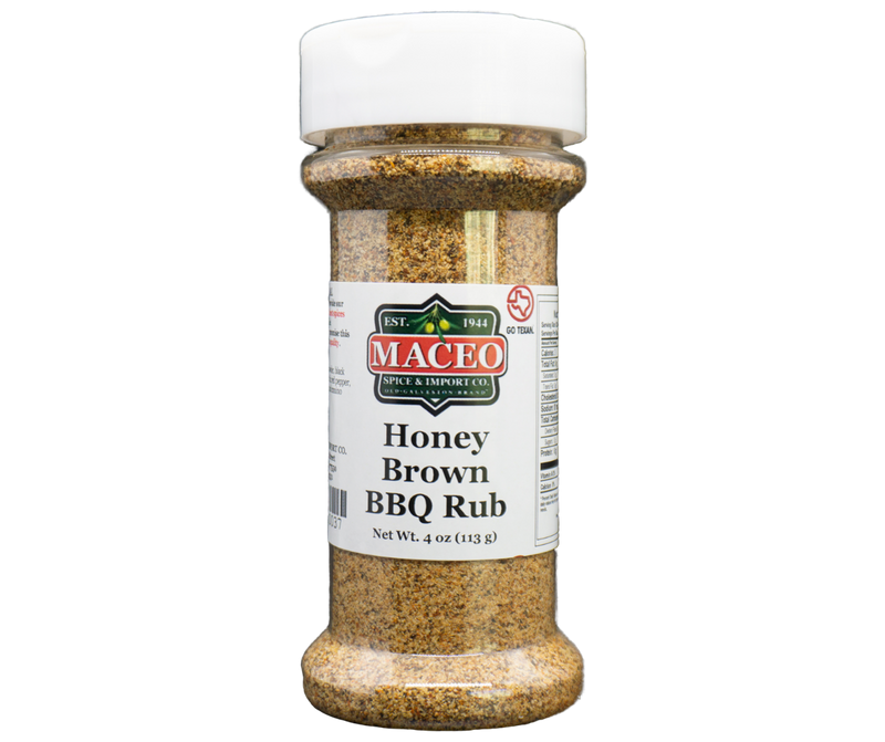Honey Brown BBQ Rub