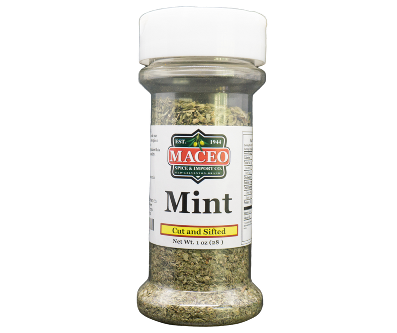 Mint - Cut and Sifted