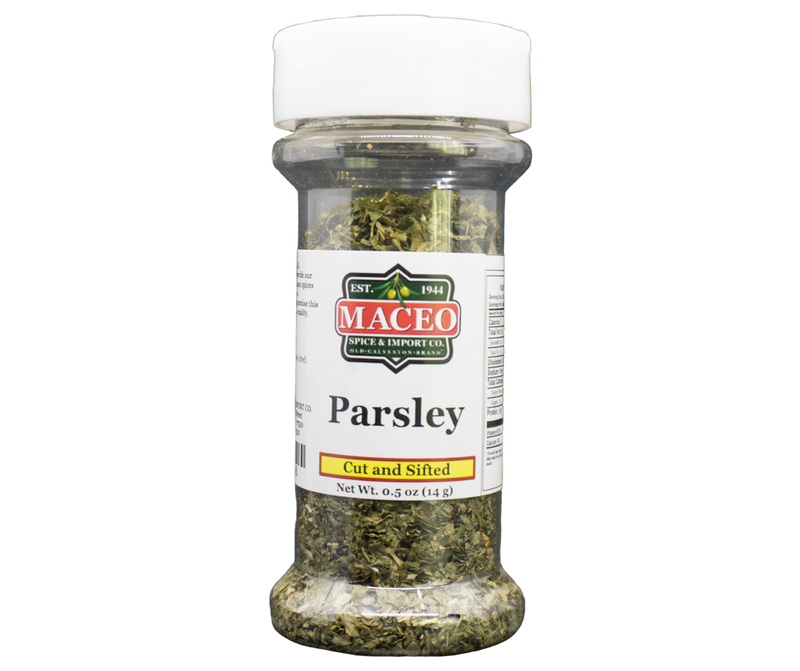 Parsley - Cut and Sifted