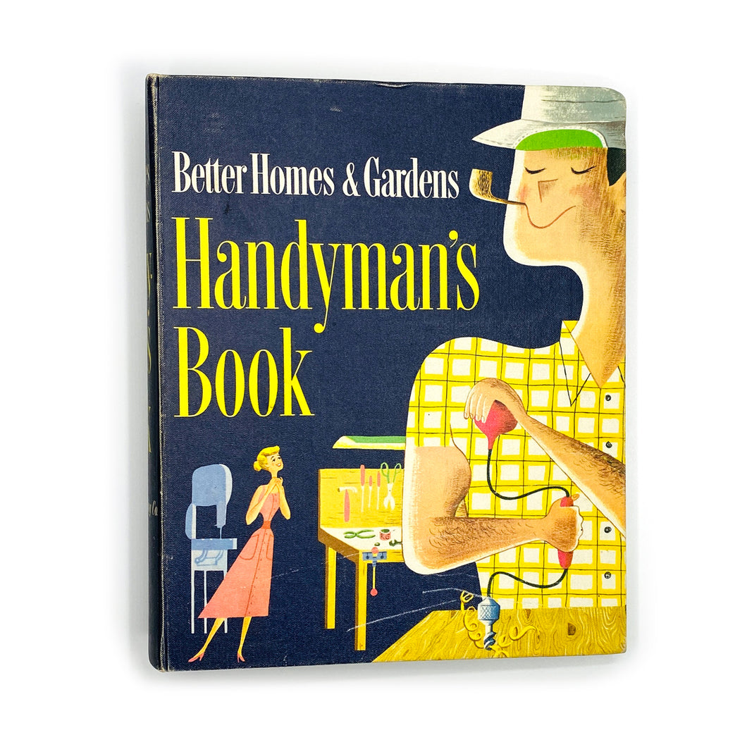 1957 Mid-Century Modern Better Homes & Gardens Handyman's Book
