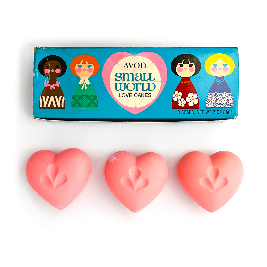 Small World Lovecakes Soaps - Vintage Collectable