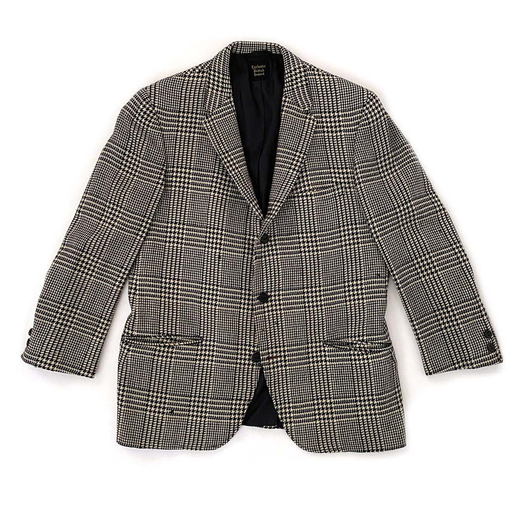 Vintage Saks Fifth Avenue Houndstooth Men's Sport Coat