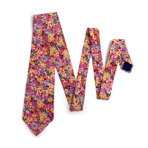 Liberty of London Pink Floral Tie