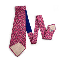 Load image into Gallery viewer, 1950s Pink Silk Tie