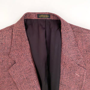 Vintage 90s Mauve Rose Men's Sport Coat