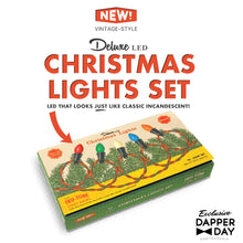 Load image into Gallery viewer, Deluxe LED Christmas Lights w/ Tru-Tone Light Bulbs