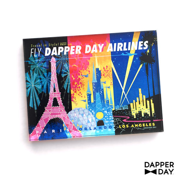 DAPPER DAY Airlines Magnet