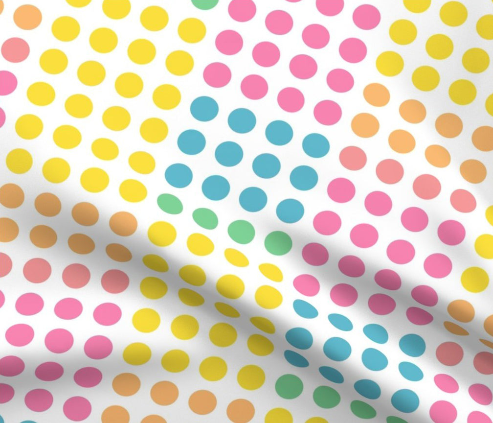 DAPPER DAY® Dot Candy Print Fabric