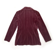 Load image into Gallery viewer, Vintage Suede Striped Women's Blazer