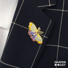 Load image into Gallery viewer, Pastel Moth Pin