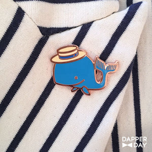 Happy Whale Pin