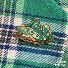 Load image into Gallery viewer, Neverland Mermaids Pin