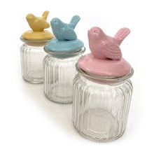 Load image into Gallery viewer, Set of 3 Bird Jars