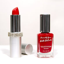 Load image into Gallery viewer, 'Solicitation' Lipstick & Nail Enamel