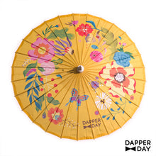 Load image into Gallery viewer, Garden Party Parasol (Yellow)
