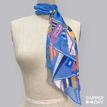 Load image into Gallery viewer, Flags Ahoy Print Silk Scarf