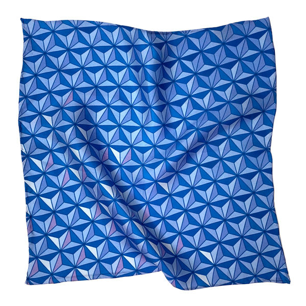 Sharkstooth Print Pocket Square